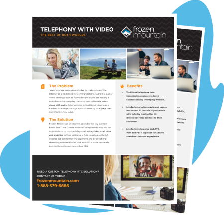 Content Offer - Flexible Live Video for Telephony