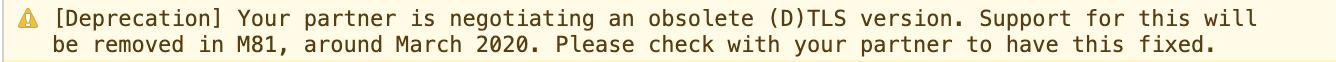 Chrome_DTLS_warning