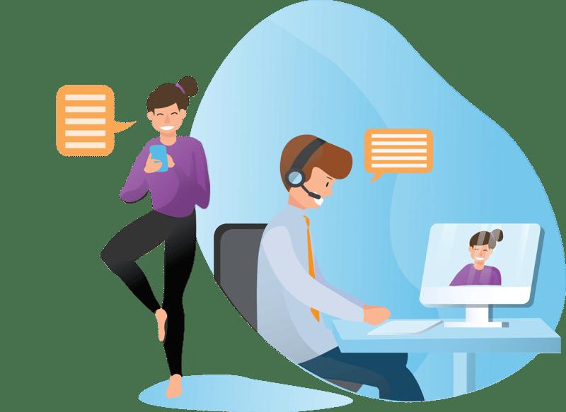 Customer Service WebRTC Applications