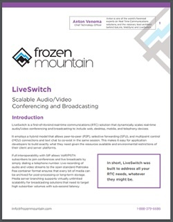 Download our LiveSwitch Whitepaper