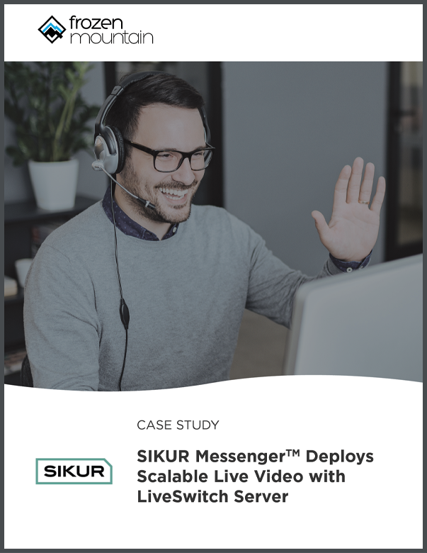 Sikur Scalable Live Video Deployments with LiveSwitch Server Case Study