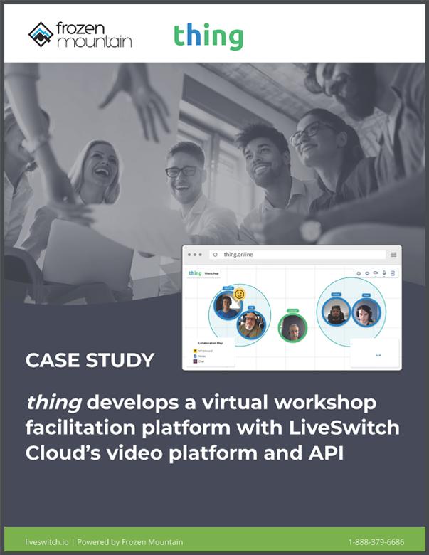 Virtual Event Facilitation Platform - Built with LiveSwitch Cloud