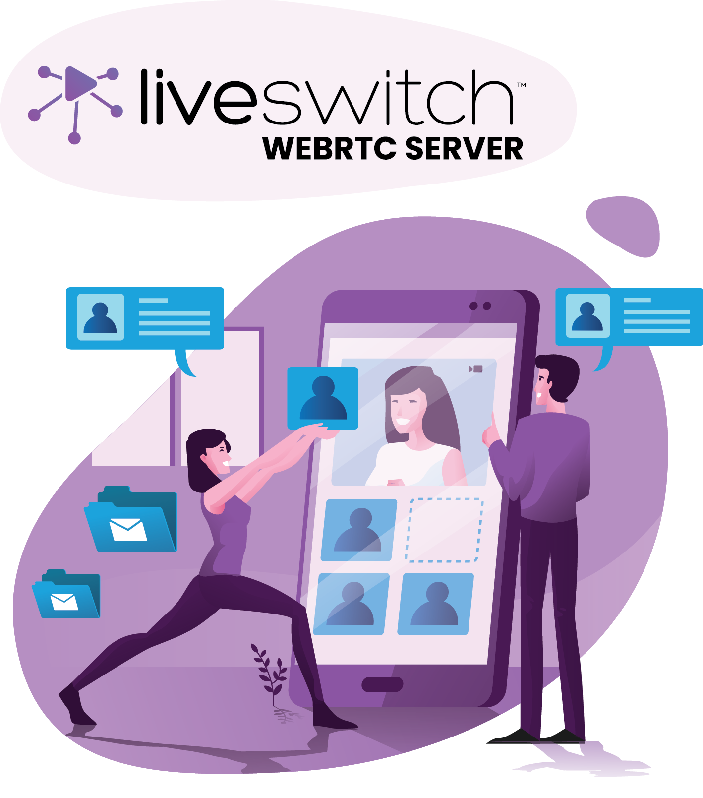 LiveSwitch WebRTC Server For Flexible Video
