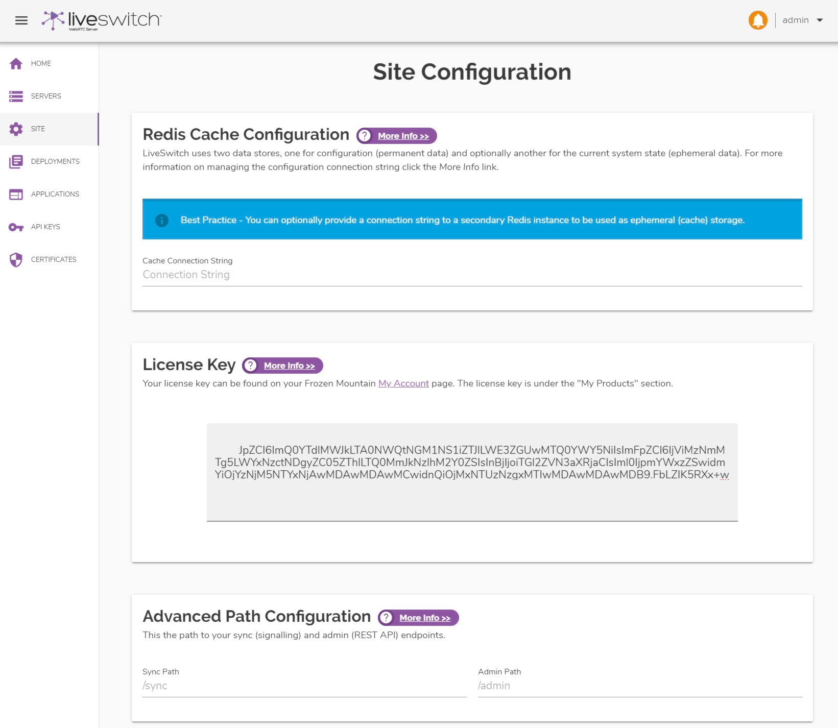 site-config