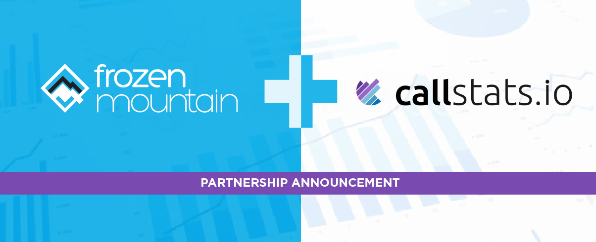 New Partnership: Frozen Mountain + Callstats.io