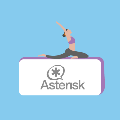 Connect to Asterisk's  IP PBXs and Voip Gateways